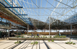 Tonsley Innovation District, Main Assembly Building & Pods | Parks | Woods Bagot