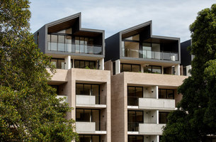 Wellington on the Park | Apartment blocks | Fox Johnston Architecture