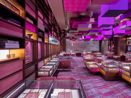 Yoho Mall Chow Tai Fook Experience Shop | Shop interiors | One Plus Partnership