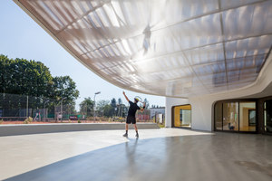 Tennis Club In Strasbourg | Sports halls | Paul Le Quernec