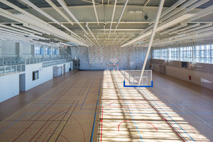 Sports Hall of the Jean-Louis Trintignant Middle School | Palestre | NBJ architectes