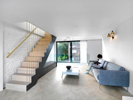 Fissure House | Living space | Threefold Architects