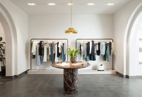 A.L.C. Soho | Shop interiors | Janson Goldstein LLP