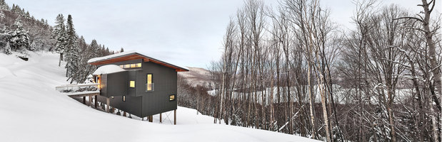 Laurentian Ski Chalet | Case unifamiliari | RobitailleCurtis