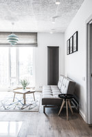 Clean Lines & Bright Lights | Living space | Dizaino Virtuve