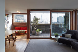 Cromwell Tower, Barbican, London | Living space | Quinn Architects