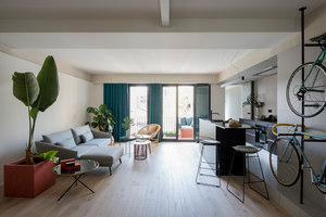 Sant Antoni Apartment | Living space | CaSA - Colombo and Serboli Architecture