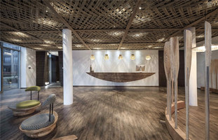 Ripple Hotel - Qiandao Lake | Hotel interiors | Li Xiang