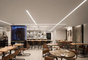 Amano Pasta | Restaurant interiors | DesignAgency