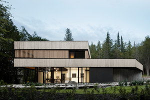 Maison sur le Lac | Detached houses | ACDF Architecture