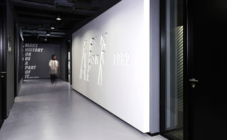Brand installations for Nike office in Beijing | Spazi ufficio | Johannes Torpe Studios