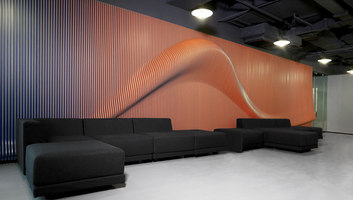 Brand installations for Nike office in Beijing | Office facilities | Johannes Torpe Studios