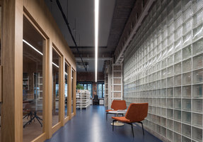 Garage Headquarters | Office facilities | Architectural bureau FORM