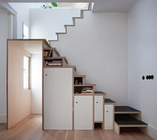 Plywood Trio Apartment In Madrid | Living space | BUJ+COLÓN Architects