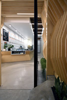 Ascended Ply / Juice Served Here | Café interiors | A-INDUSTRIAL