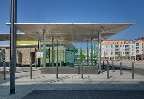 Terminus stop Gravensteiner Platz | Railway stations | SYRA_Schoyerer Architekten