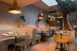 Bandol | Restaurant interiors | Kinnersley Kent Design