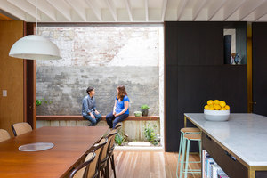 Courtyard House | Living space | Aileen Sage Architects