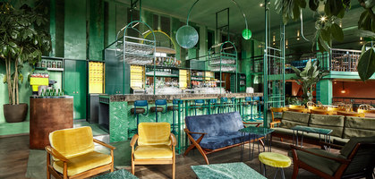 Bar Botanique Cafe Tropique | Café interiors | Studio Modijefsky