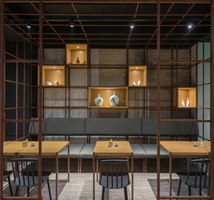 The Noodle Diner Sanlitun SOHO | Restaurant interiors | Lukstudio
