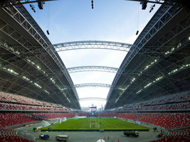 Singapore National Stadium | Sports arenas | Arup Associates