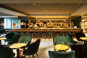 Restaurant, Bar & Waiting Area | Le Meridien Vienna | Herstellerreferenzen | Freifrau reference projects