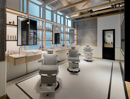 Akin Barber & Shop | Shop-Interieurs | Anarchitect