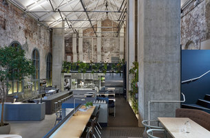 Higher Ground | Restaurant interiors | Designoffice