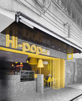 Hi-Pop Tea Concept Store | Café interiors | Construction Union