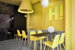 Hi-Pop Tea Concept Store | Cafeterías - Interiores | Construction Union
