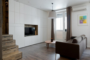 Flat 35 m² | Living space | Studio Bazi