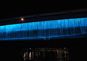 Indigo Waterfall | Installations | spatial practice