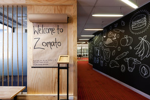 Zomato | Office facilities | Inbetween Architecture