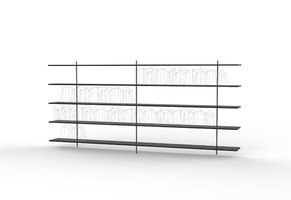 Aero Shelf for Living Divani | Prototypes | SHIBULERU