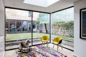 Monmouth Road | Living space | Charles Tashima Architecture