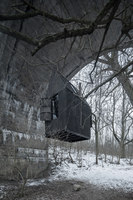 Black Flying House | Detached houses | H3T Architekti