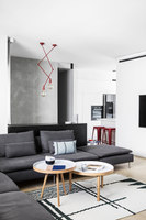 A|A Duplex | Living space | Yael Perry