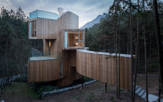 The Qiyun Mountain Tree House | Einfamilienhäuser | Bengo Studio