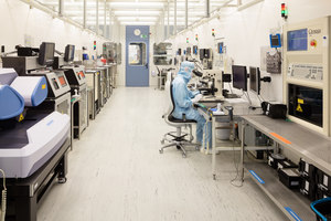 Reinräume der United Monolithic Semiconductors GmbH (UMS) Ulm | Manufacturer references | Nora Systems reference projects