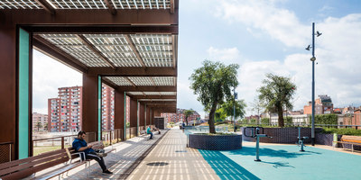 Raised gardens of Sants in Barcelona | Stazioni ferroviarie | Sergi Godia