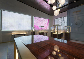 FENDI Timepieces Baselworld Exhibition Booth | Manufacturer references | TECNOGRAFICA