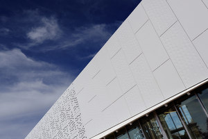 MUS Davis-Harrington Welcome Center Missouri State University | Herstellerreferenzen | Swisspearl reference projects
