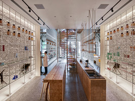 Molecure Pharmacy | Shop interiors | Waterfrom Design