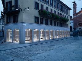 Acne Studios flagship Milan | Negozi - Interni | Jonny Johansson
