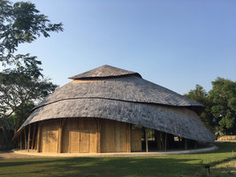 Bamboo Sports Hall for Panyaden International School | Sports halls | Chiangmai Life Architects
