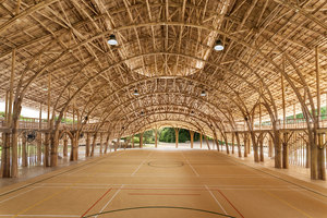 Bamboo Sports Hall for Panyaden International School | Halles de sport | Chiangmai Life Architects