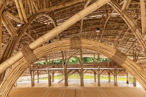 Bamboo Sports Hall for Panyaden International School | Sporthallen | Chiangmai Life Architects