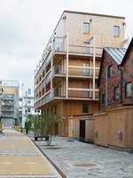 The Wooden Box House | Apartment blocks | Spridd