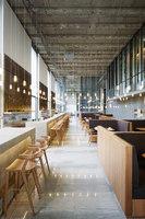 Les Grands Verres | Intérieurs de restaurant | Lina Ghotmeh Architecture