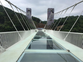 Zhangjiajie Grand Canyon Glass Bridge | Bridges | Haim Dotan Ltd.